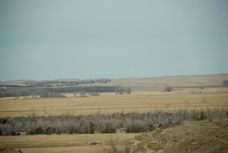 Slättar av Nebraska arkivfoto