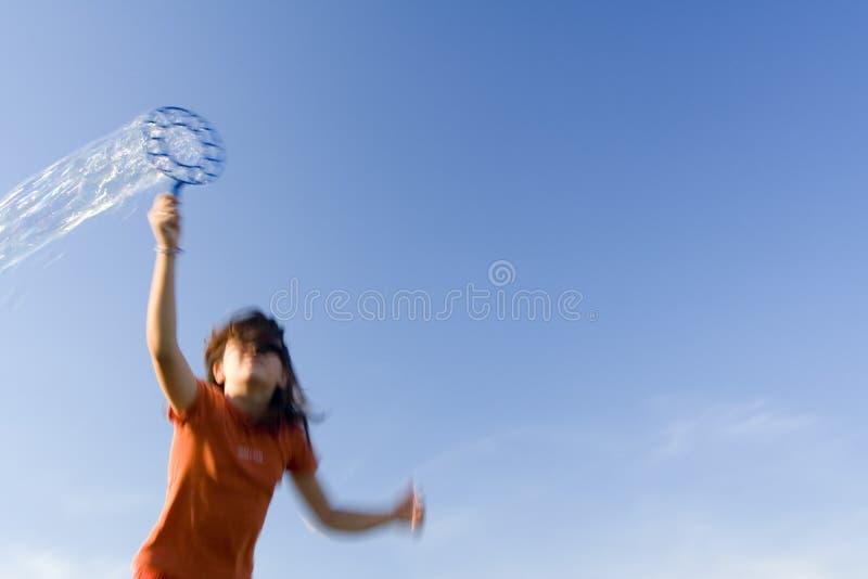 slående bubblor royaltyfria bilder