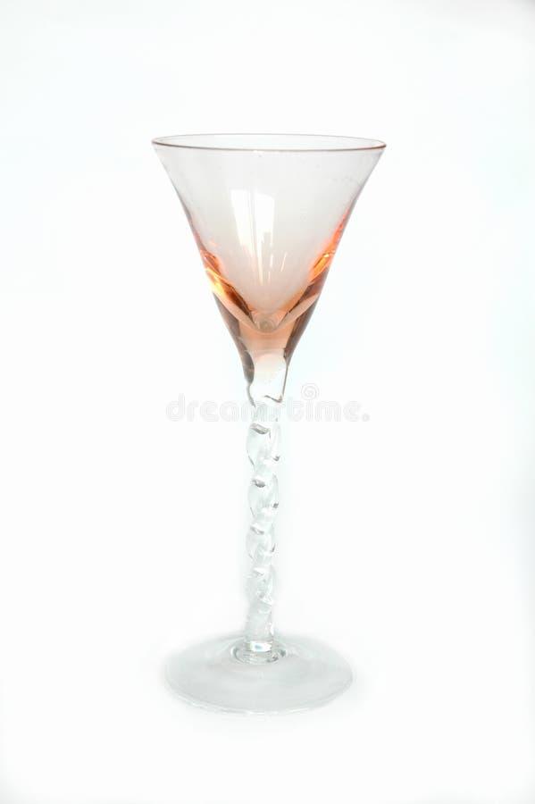 Slågen Glass Hand Royaltyfri Bild