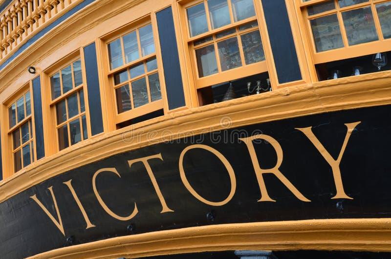 slåss segern för den djupa för flaggskeppet för bluefärger den trafalgar för hms skyen för lord nelson rika royaltyfri bild