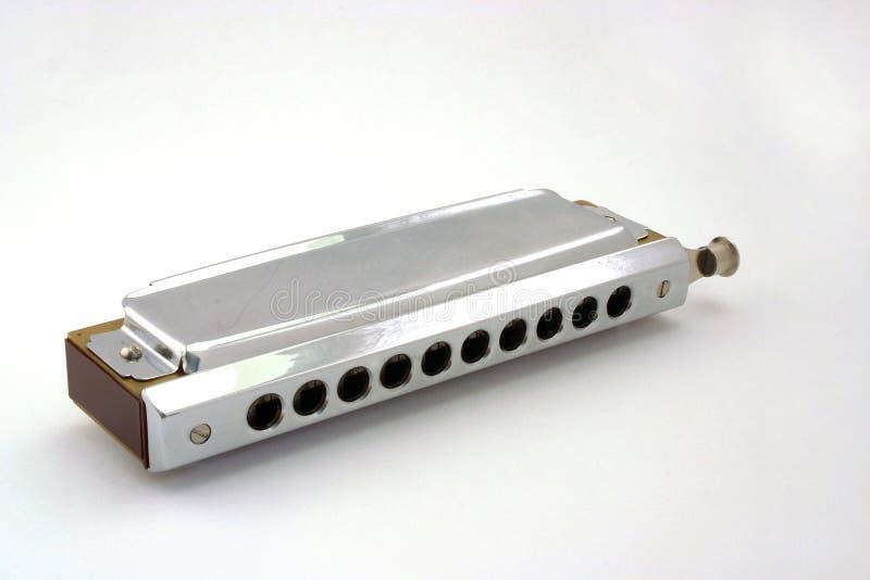 slösar harmonicaen royaltyfri foto
