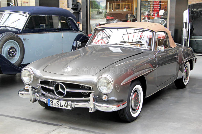 190sl benz Mercedes obrazy royalty free