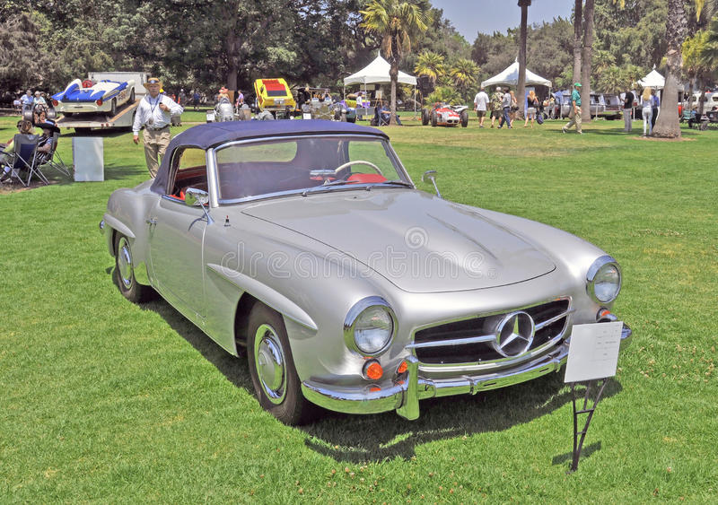 190sl benz Mercedes obraz royalty free