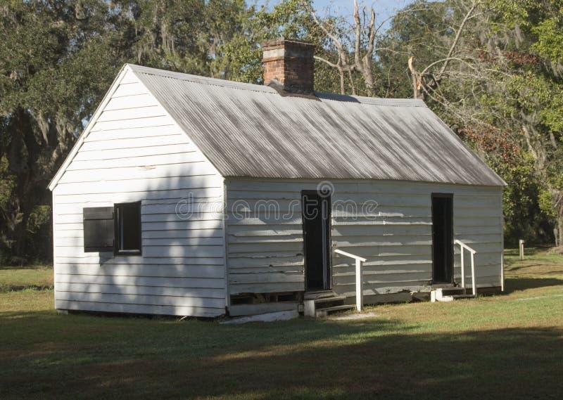 Slaaf Cabin stock afbeelding