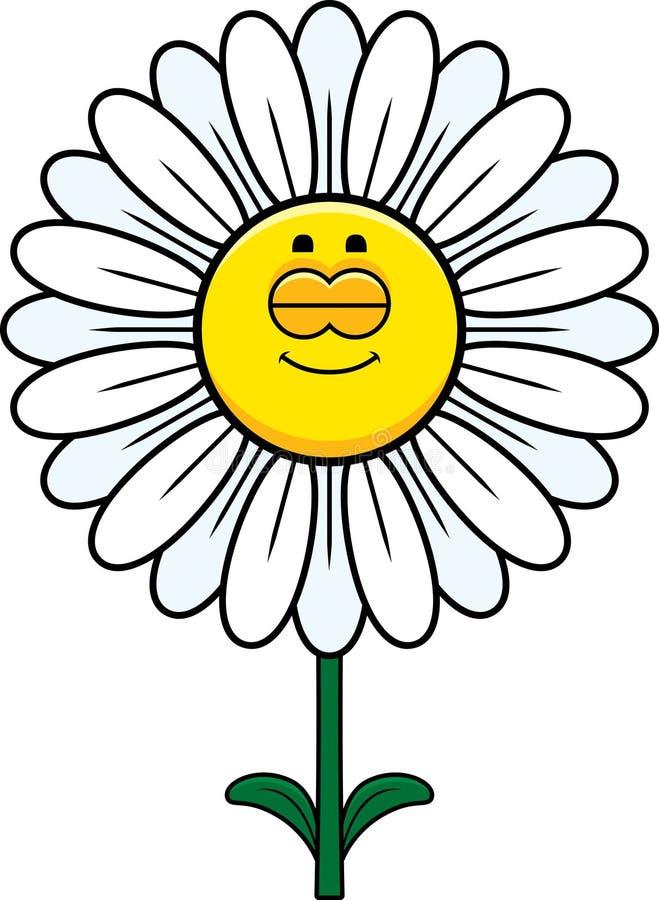 Slaap Daisy vector illustratie