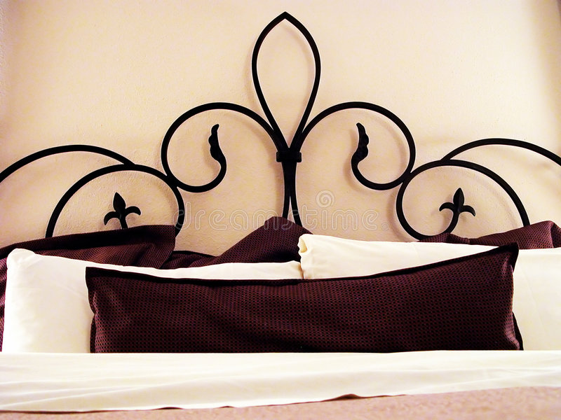 Slaapkamer royalty-vrije stock foto's