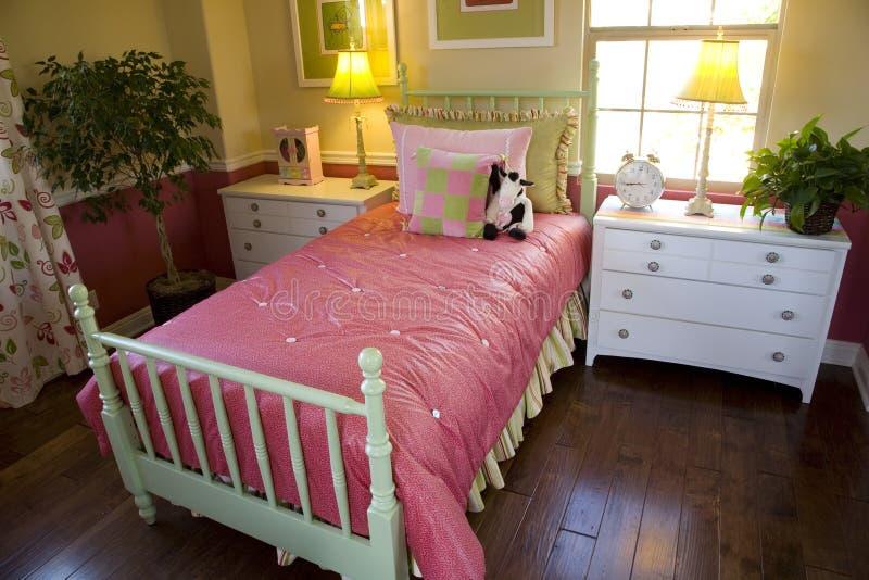Slaapkamer 1812 van jonge geitjes royalty-vrije stock foto