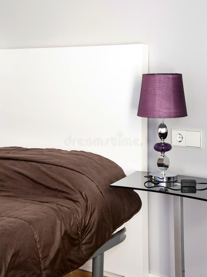 Slaapkamer stock fotografie