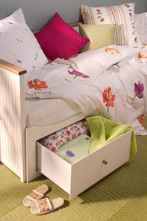 Slaapkamer royalty-vrije stock foto