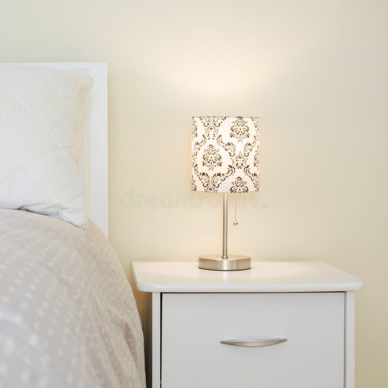 Slaapkamer binnenlands ontwerp stock afbeeldingen