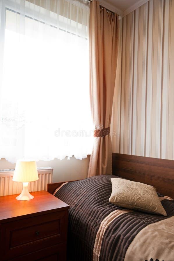 Slaapkamermening stock afbeelding