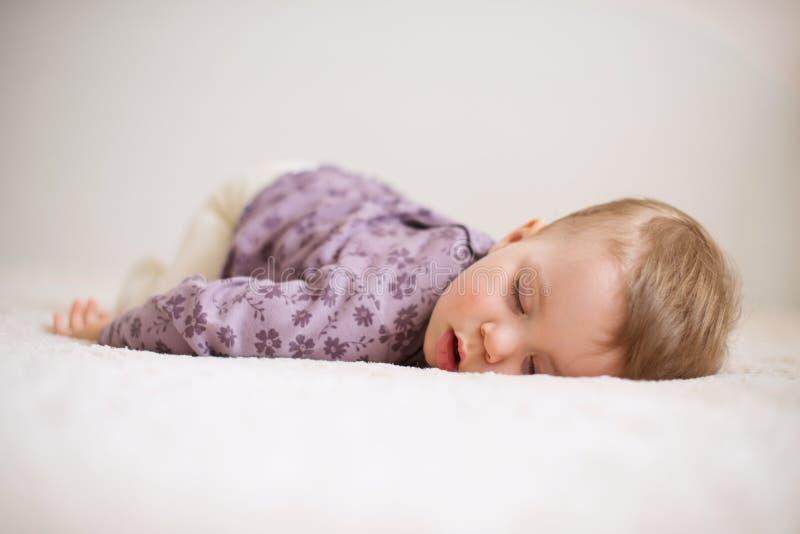 Slaapkind stock afbeelding