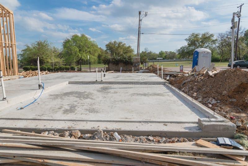 Slab on grade foundation concrete for timber frame house for Slab on grade foundation cost