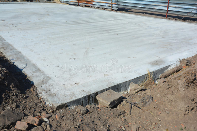 Slab on grade foundation monolithic slabs are foundation for Monolithic pour foundation