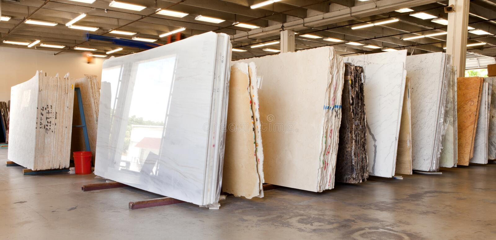 Download Slabs Of Granite In A Storage Warehouse Stock Photo - Image: 26640994