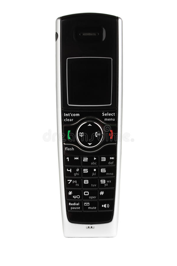 Sladdlös telefon. royaltyfri foto