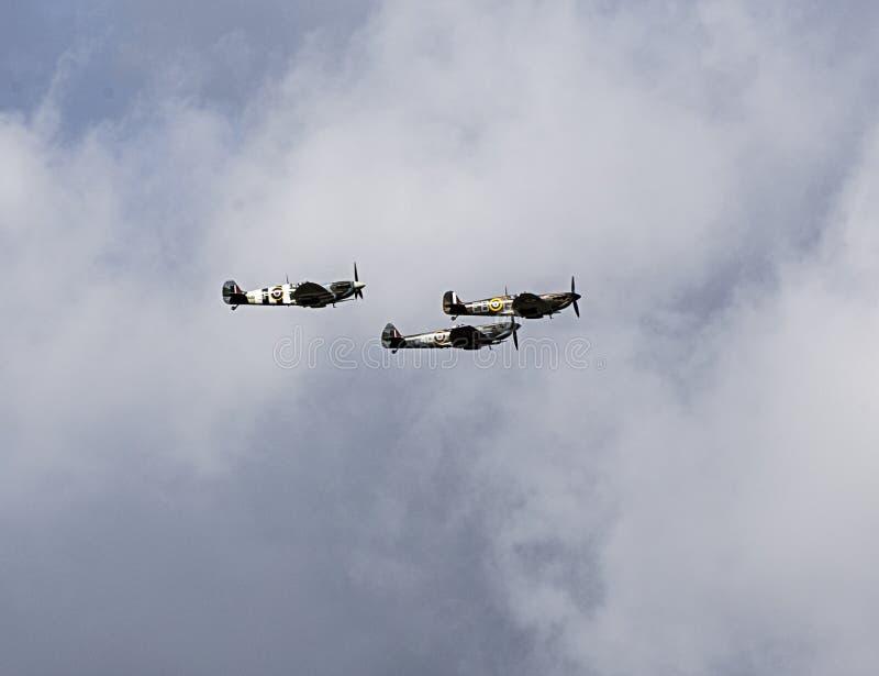 Slag van de Herdenkingsluchtparade van Groot-Brittannië royalty-vrije stock foto