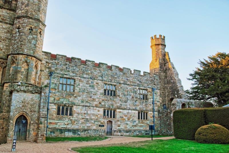 Slagabdij in Oost-Sussex in Engeland royalty-vrije stock foto