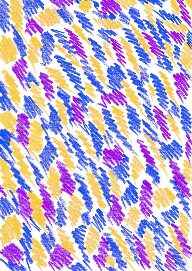 Slagen en lijnensamenvatting vector illustratie