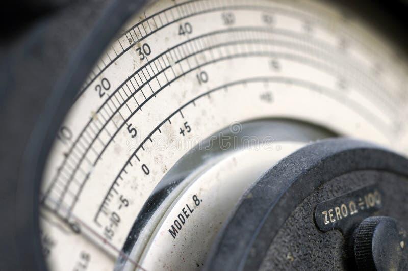Slagen Multimeter fotografering för bildbyråer