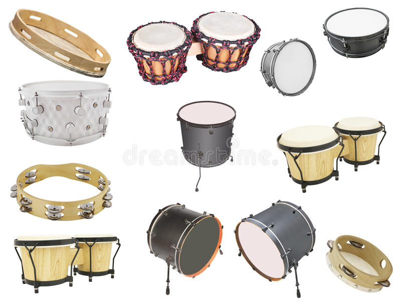 Slaginstrumenten royalty-vrije stock foto's
