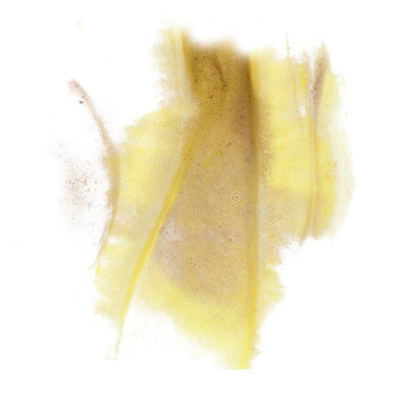 Slaglängden för limefrukt för isolaten för vattenfärgen för färgpulver för målarfärgfärgstänkfärg plaskar för akvarellaquarel för arkivbild