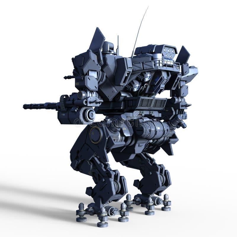 Slagrobot stock foto