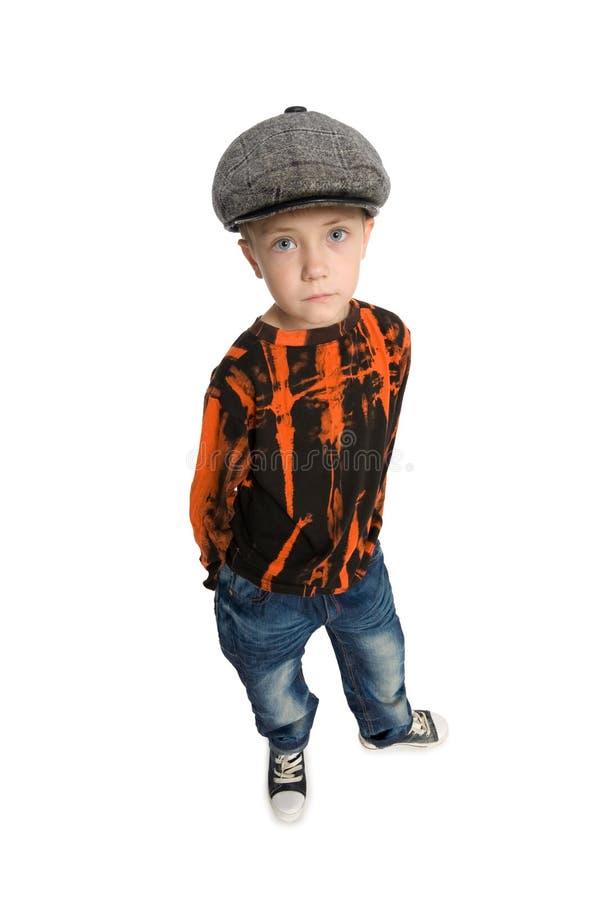 slags look för pojke arkivbild