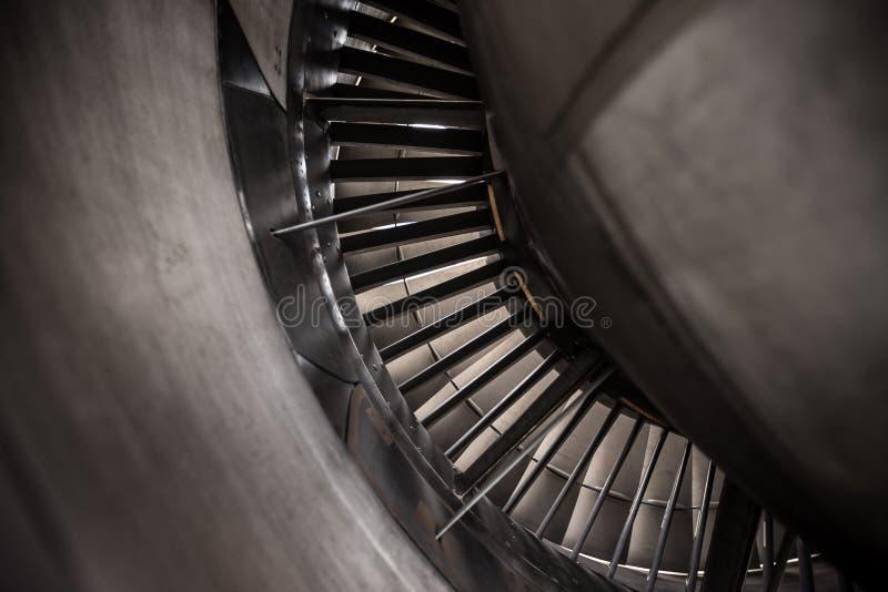 slags nivå turbo för motorstråle royaltyfria foton