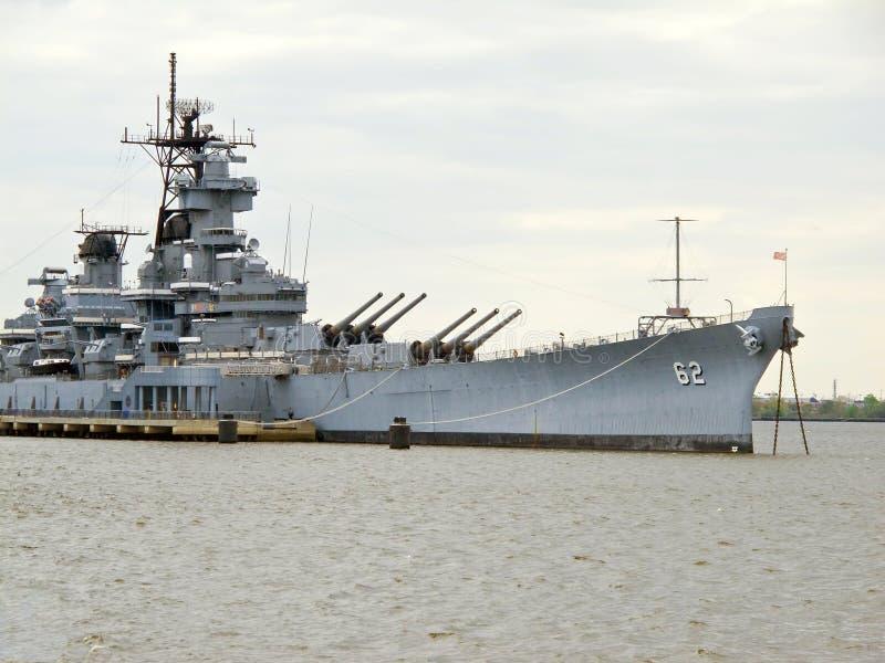 Slagschip royalty-vrije stock afbeelding