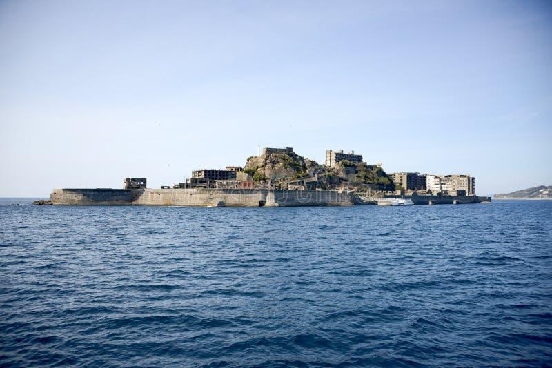Slagschipeiland, Japan royalty-vrije stock afbeeldingen