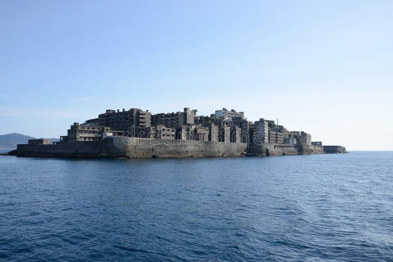 Slagschipeiland, Japan royalty-vrije stock foto