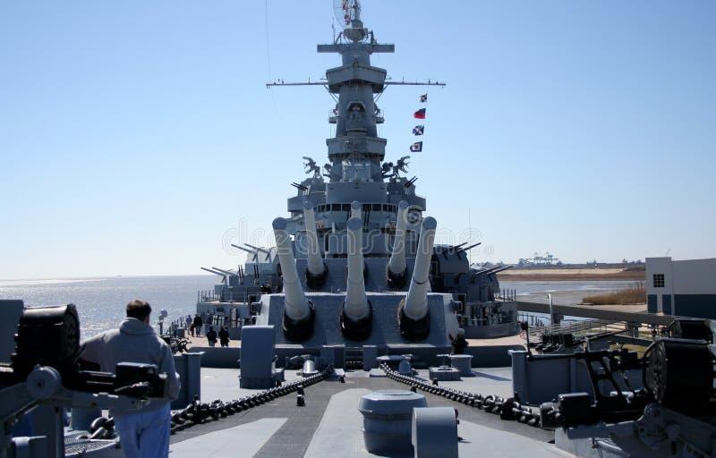 slagskepp royaltyfria foton