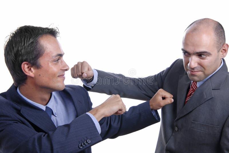 slagsmål arkivbild