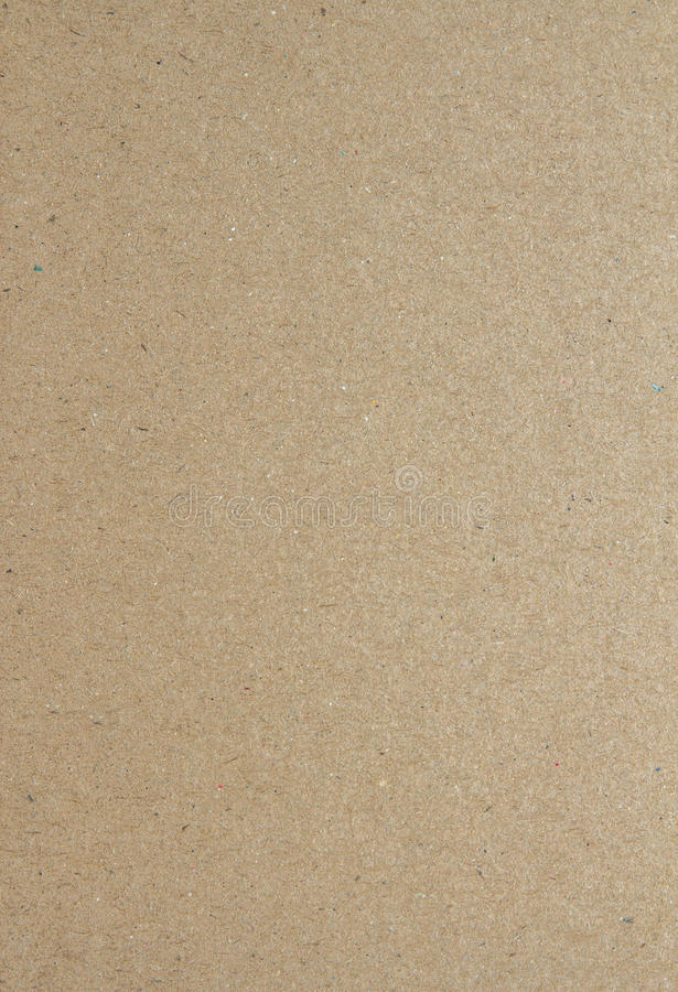 Slaktarepapper eller brunt papper royaltyfri bild
