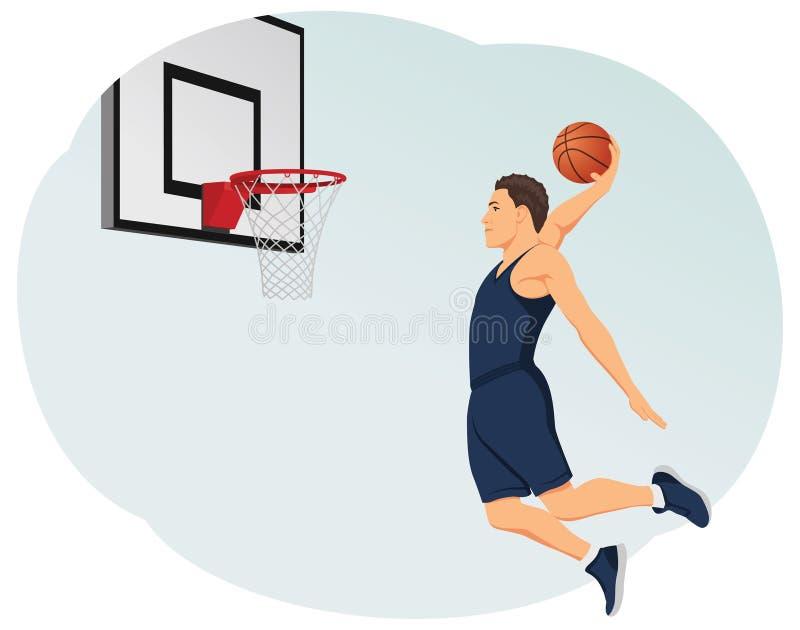 Slam dunk stock illustration