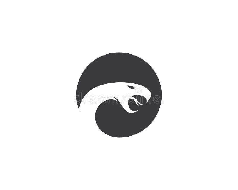Slang Logo Template stock illustratie