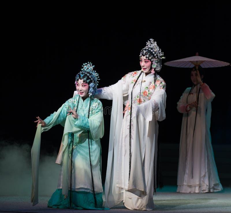 "Slang zuster-Kunqu Opera""Madame Witte Snake† stock afbeelding"