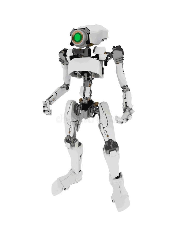 Slanke Robot, Status vector illustratie