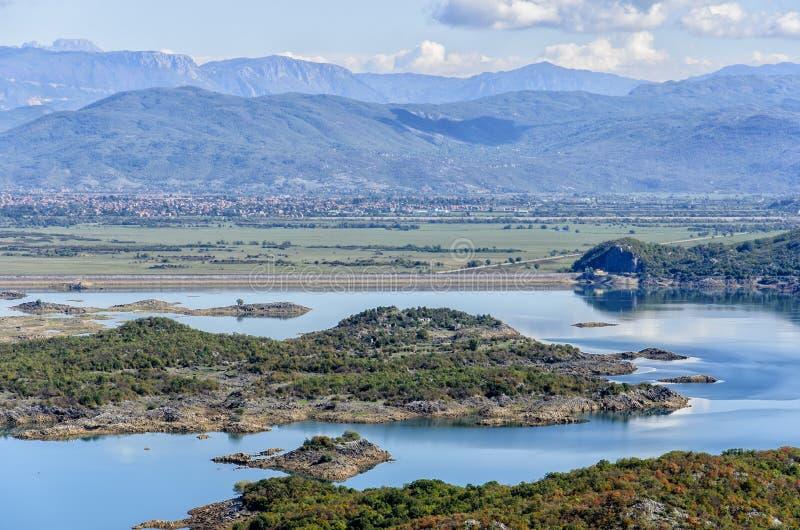 Slansko jezioro, Montenegro fotografia stock