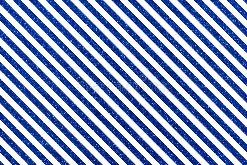 Slanted blue glittery lines. Slanted glittery lines The Theme of love and Valentines Day Idea for greeting card Rectangular orientation. Diagonal stripes of vector illustration