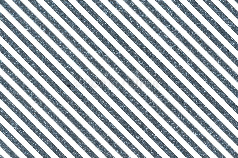 Slanted blue glittery lines. Slanted glittery lines The Theme of love and Valentines Day Idea for greeting card Rectangular orientation. Diagonal stripes of stock illustration