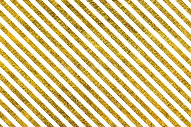 Slanted Golden lines royalty free illustration
