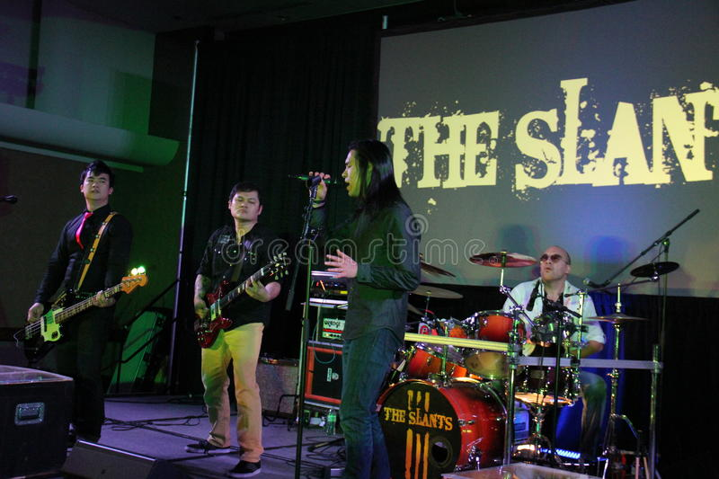 The Slants royalty free stock images