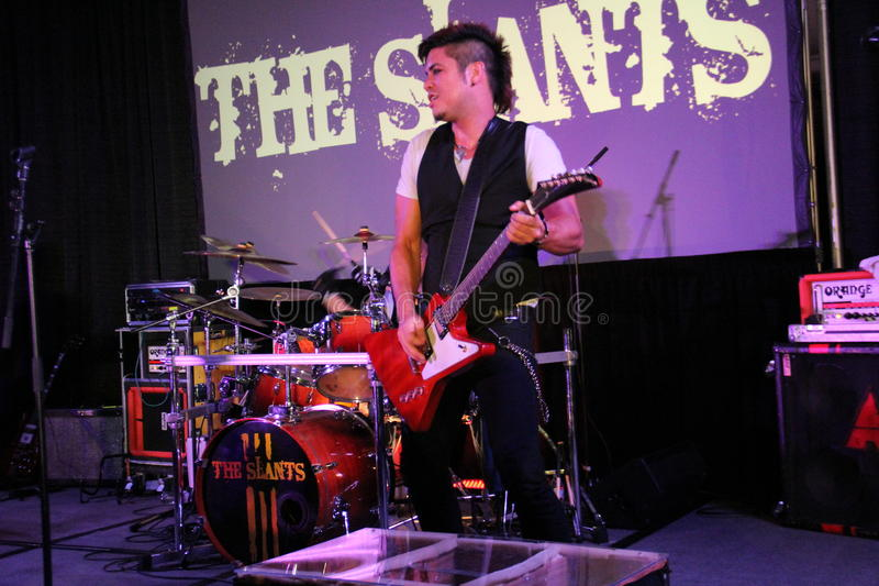 The Slants royalty free stock photography