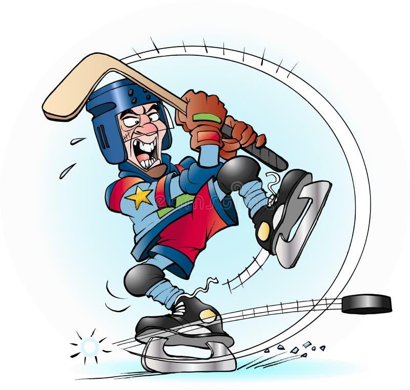 Free Slap Shot In Hockey Royalty Free Stock Images - 67544049