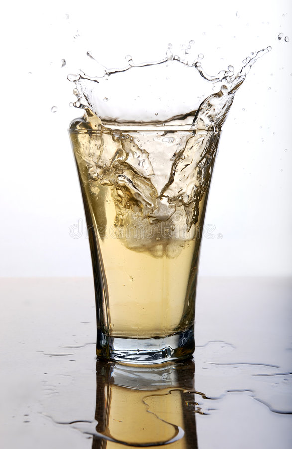 slapp drink royaltyfri bild