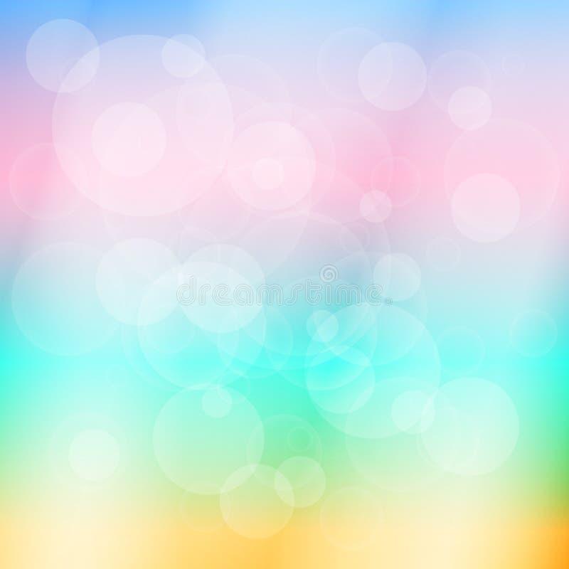 Slapp kulör abstrakt bakgrund vektor stock illustrationer