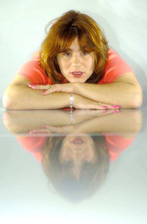 slapp reflexion fotografering för bildbyråer