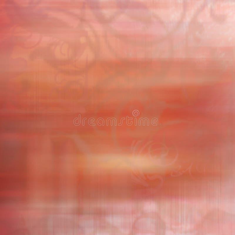 slapp romantiker för luftbakgrundsborste royaltyfri illustrationer